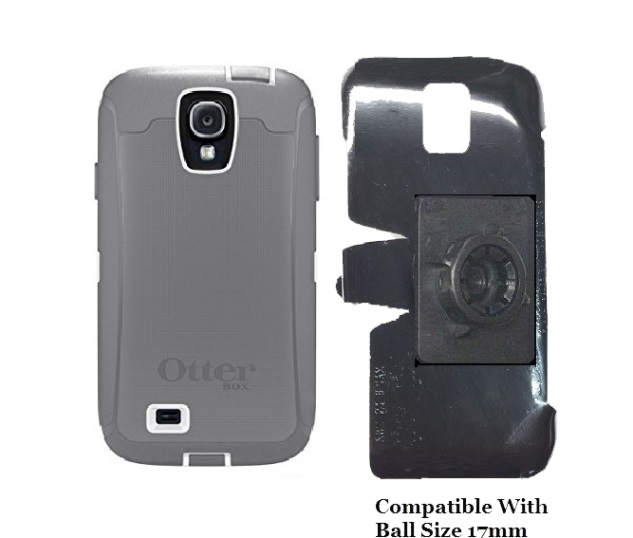SlipGrip 17MM Holder For Samsung Galaxy S4 i9500 Using Otterbox Defender Case