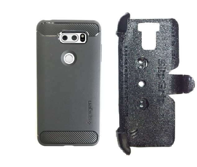 SlipGrip PRO Mounts Holder Designed For LG LG V30 Phone Spigen Rugged Armor ShockProof Case