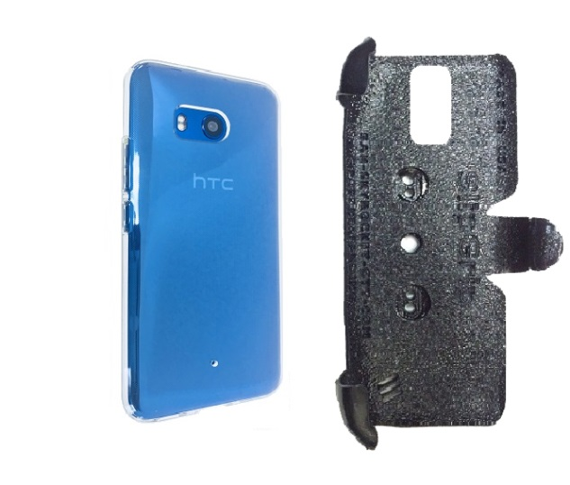 SlipGrip PRO Mounts Holder Designed For HTC U11 Phone Spigen Liquid Crystal Case