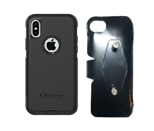 SlipGrip RAM-HOL Holder For Apple iPhone X Using Otterbox Commuter Case