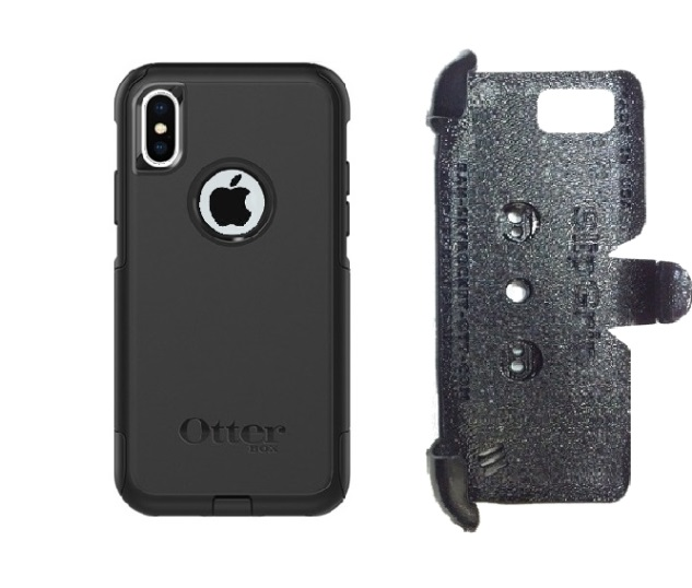 SlipGrip PRO Mounts Holder For Apple iPhone X Using Otterbox Commuter Case