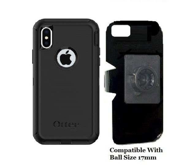 SlipGrip 17MM Holder For Apple iPhone X Using Otterbox Defender Case
