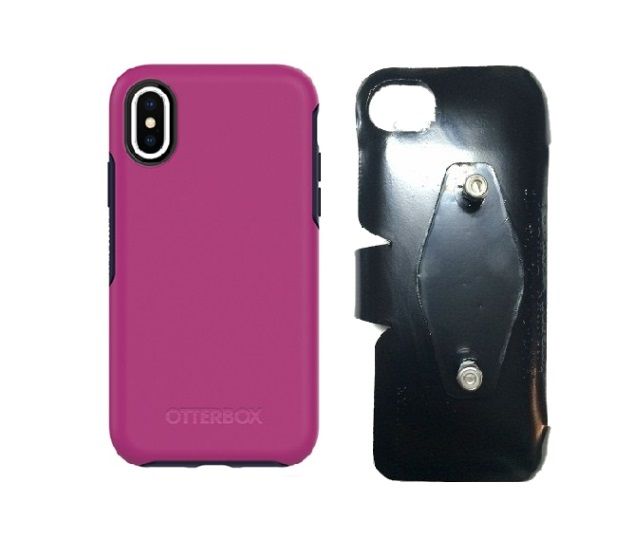 SlipGrip RAM-HOL Holder For Apple iPhone X Using Otterbox Symmetry Case
