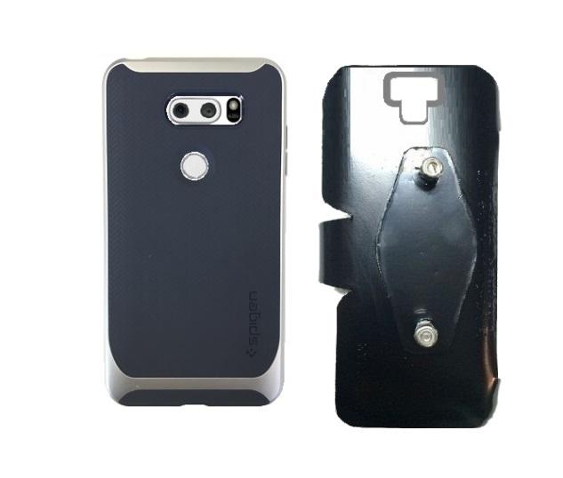 timeless design a904d 75c95 SlipGrip RAM-HOL Holder Designed For LG V30 Phone Spigen Neo Hybrid Case