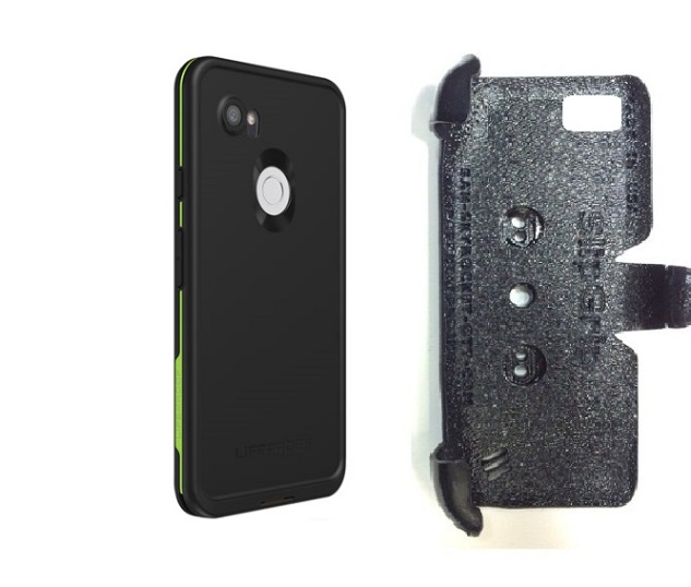 SlipGrip PRO Mounts Holder Designed For Google Pixel 3 XL Phone Lifeproof FRE Case