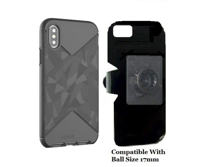 huge discount eebbc 11f32 SlipGrip 17MM Holder Designed For Apple iPhone X tech21 EVO Tactical Case