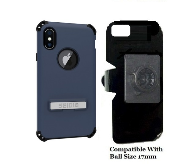 SlipGrip 17MM Holder Designed For Apple iPhone X Seidio Dilex Case
