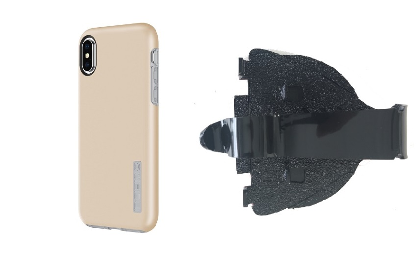 SlipGrip Car Dashboard Holder Designed For Apple iPhone X Incipio DualPro Case