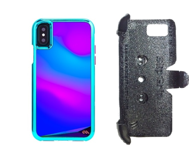 check out c7726 dc91e SlipGrip PRO Mounts Holder For Apple iPhone X Using Case-Mate Mood Case