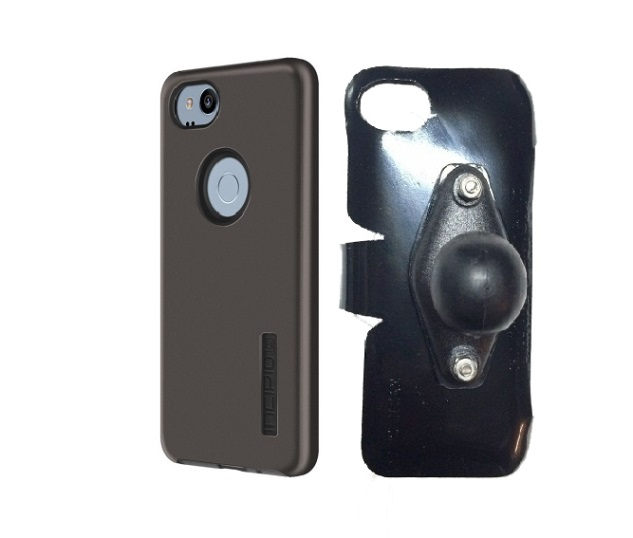 SlipGrip RAM Holder Designed For Google Pixel 2 Phone Incipio DualPro Case