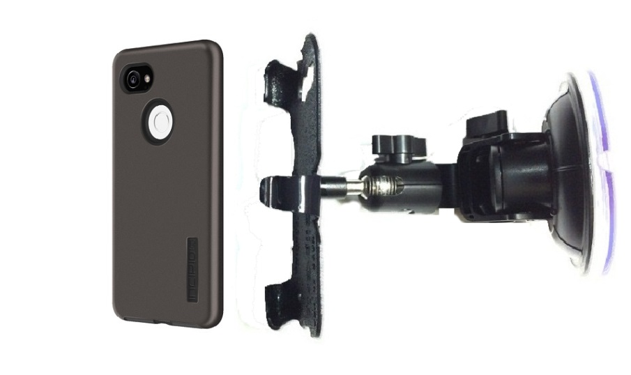 SlipGrip Car DT Holder Designed For Google Pixel 2 XL Phone Incipio DualPro Case
