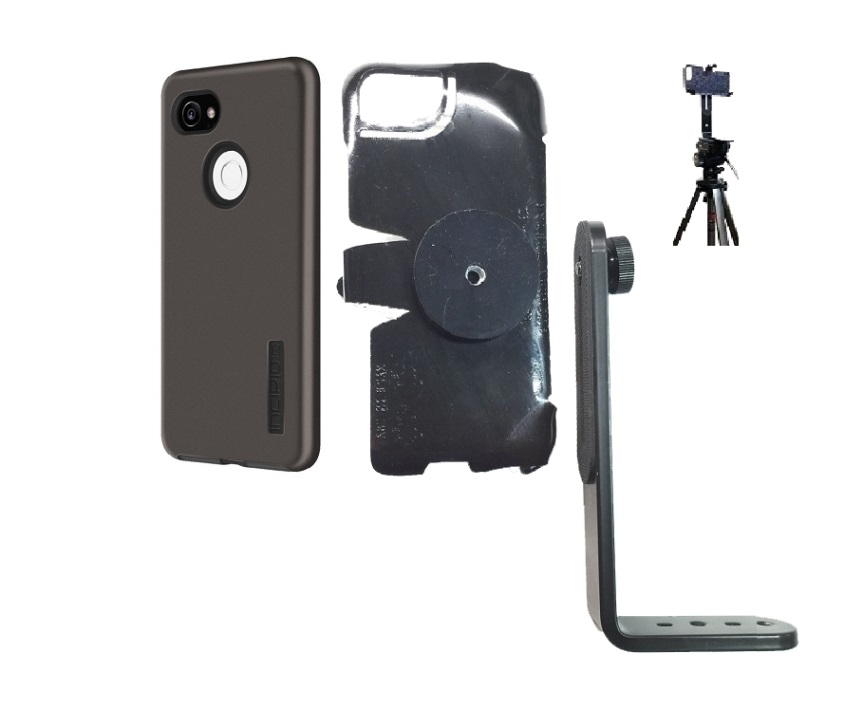 SlipGrip Tripod Mount Designed For Google Pixel 2 XL Phone Incipio DualPro Case