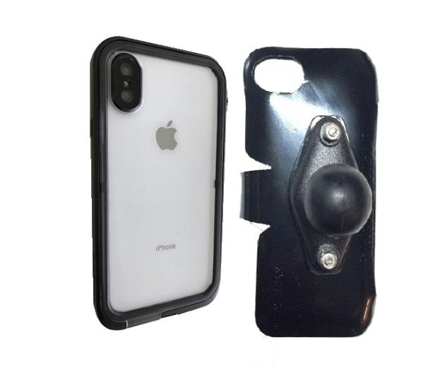 newest e8146 d6642 SlipGrip RAM Holder Designed For Apple iPhone X Catalyst Waterproof Shock  Resistant Case