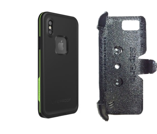 official photos 99bcc e89bc SlipGrip PRO Mounts Holder Designed For Apple iPhone X Lifeproof FRE Case