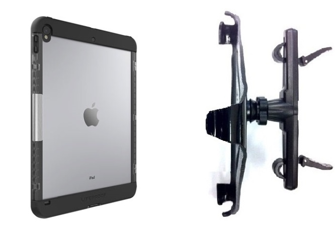 SlipGrip Headrest Mount Designed For Apple iPad Pro 10.5 inch Tablet Lifeproof Nuud Case