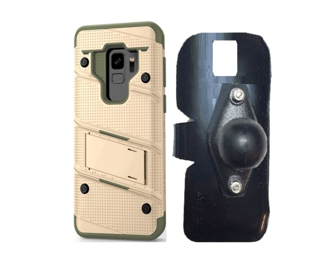 SlipGrip RAM Holder For Samsung Galaxy S9 Using Zizo Bolt Case