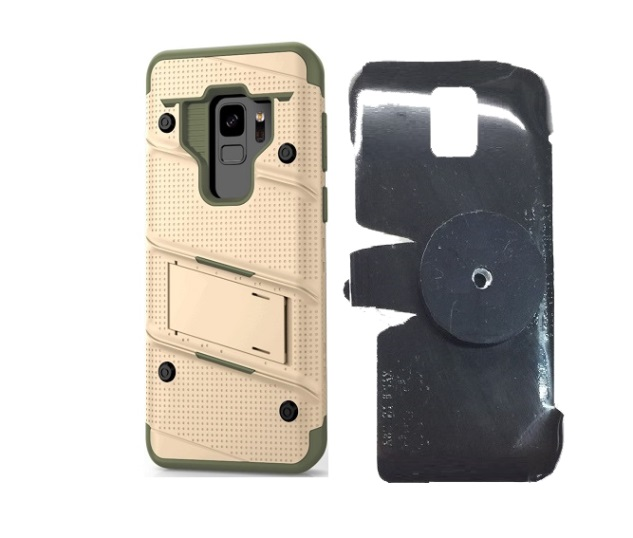 SlipGrip 1/4 Screw Bracket For Samsung Galaxy S9 Using Zizo Bolt Case