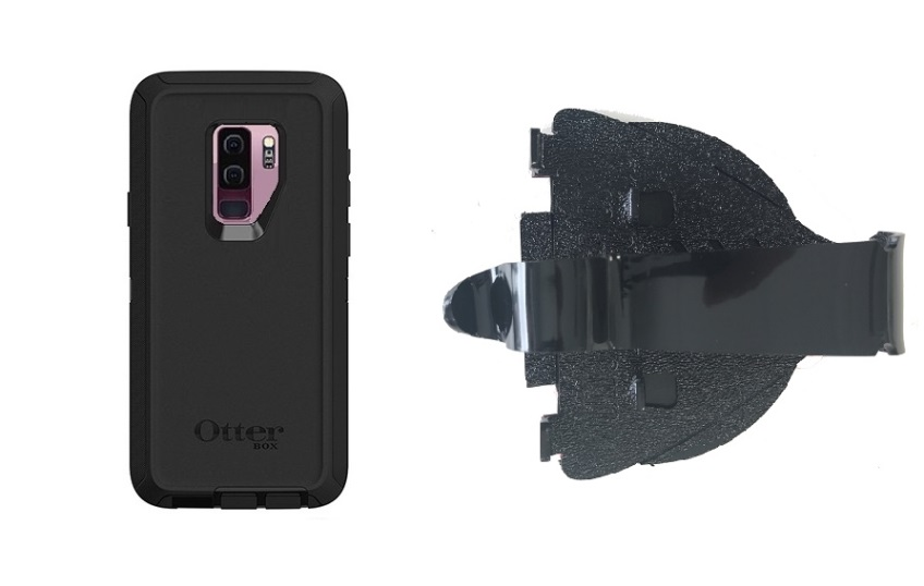 SlipGrip Car Dashboard Holder For Samsung Galaxy S9 Plus Using Otterbox Defender Case