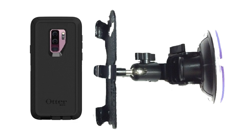 SlipGrip Car DT Holder For Samsung Galaxy S9 Plus Using Otterbox Defender Case