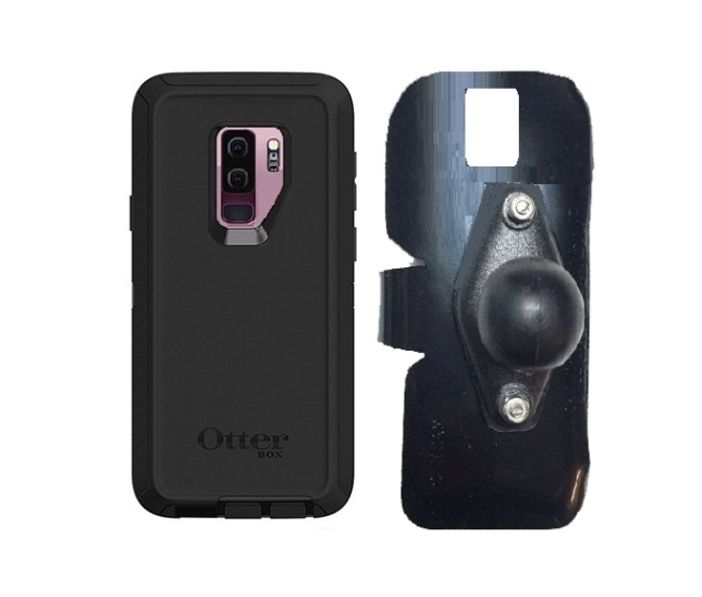 SlipGrip RAM Holder For Samsung Galaxy S9 Plus Using Otterbox Defender Case