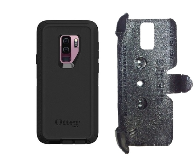 SlipGrip PRO Mounts Holder For Samsung Galaxy S9 Plus Using Otterbox Defender Case