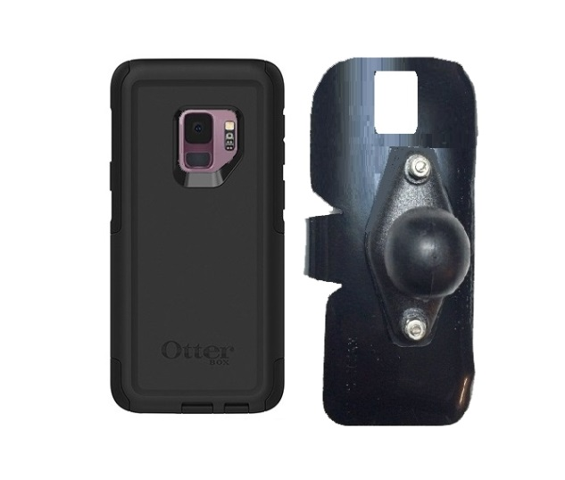 SlipGrip RAM Holder For Samsung Galaxy S9 Using Otterbox Commuter Case