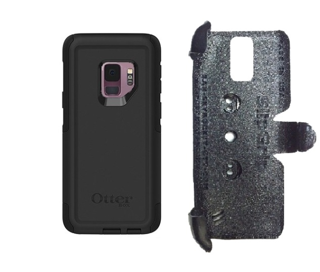 SlipGrip PRO Mounts Holder For Samsung Galaxy S9 Using Otterbox Commuter Case