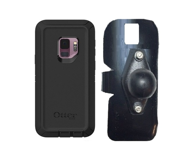SlipGrip RAM Holder For Samsung Galaxy S9 Using Otterbox Defender Case