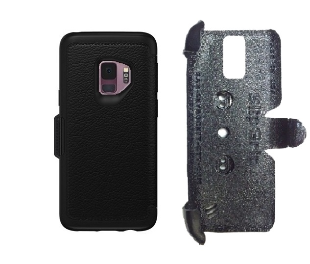 SlipGrip PRO Mounts Holder For Samsung Galaxy S9 Using Otterbox Strada Case