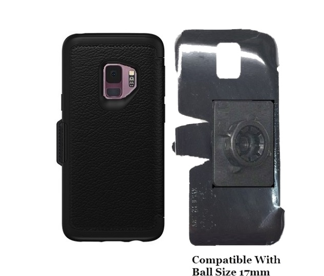 SlipGrip 17MM Holder For Samsung Galaxy S9 Using Otterbox Strada Case