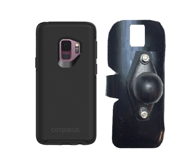 SlipGrip RAM Holder For Samsung Galaxy S9 Using Otterbox Symmetry Case