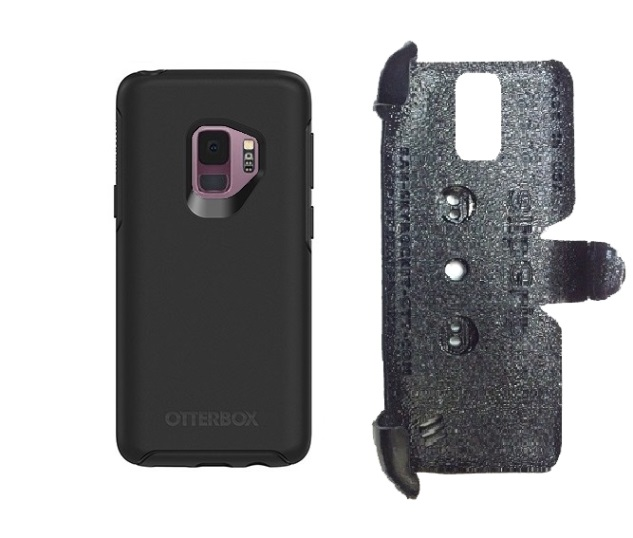 SlipGrip PRO Mounts Holder For Samsung Galaxy S9 Using Otterbox Symmetry Case