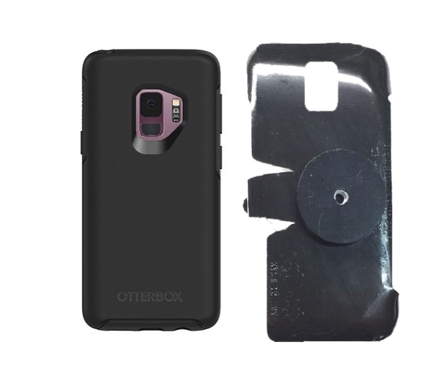 SlipGrip 1/4 Screw Bracket For Samsung Galaxy S9 Using Otterbox Symmetry Case