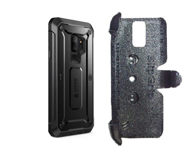 hot sale online 56109 7489f SlipGrip PRO Mounts Holder Designed For Samsung Galaxy S9 Plus Supcase  Unicorn Beetle Pro Case