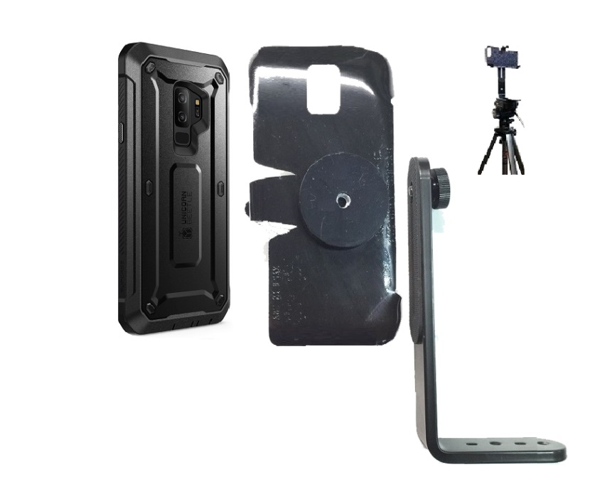 best sneakers 73082 a3eab SlipGrip Tripod Mount Designed For Samsung Galaxy S9 Plus Supcase Unicorn  Beetle Pro Case