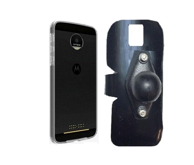 wholesale dealer bcaa3 e70bc SlipGrip RAM Holder For Motorola Moto Z2 Force Using Verizon Bumper Case