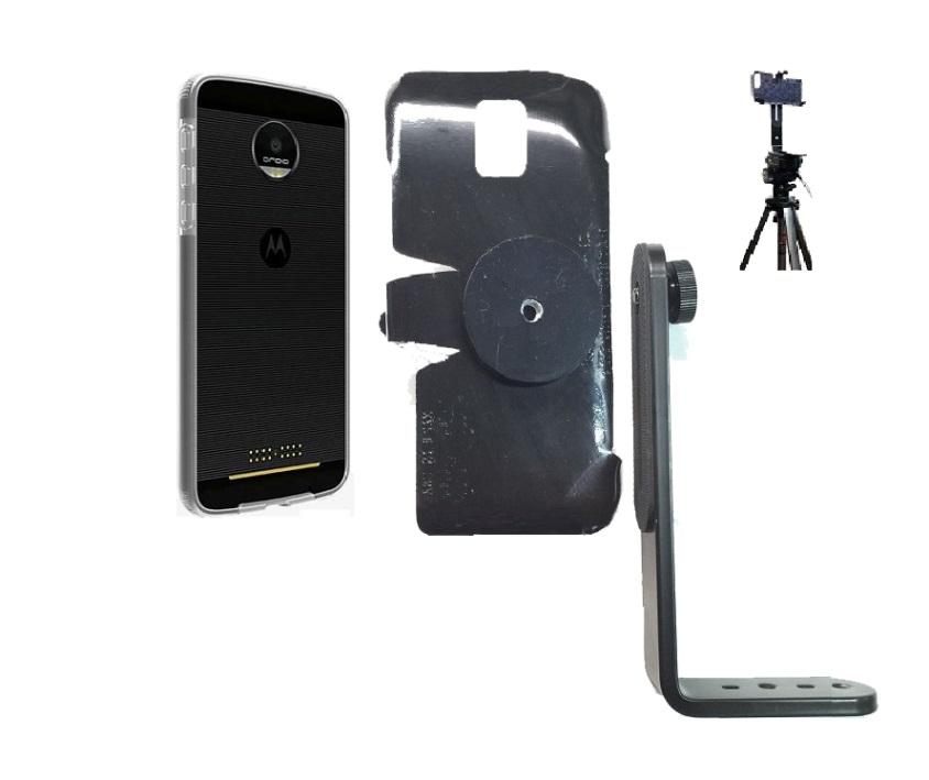 reputable site ec4a0 f147e SlipGrip Tripod Mount For Motorola Moto Z2 Force Using Verizon Bumper Case