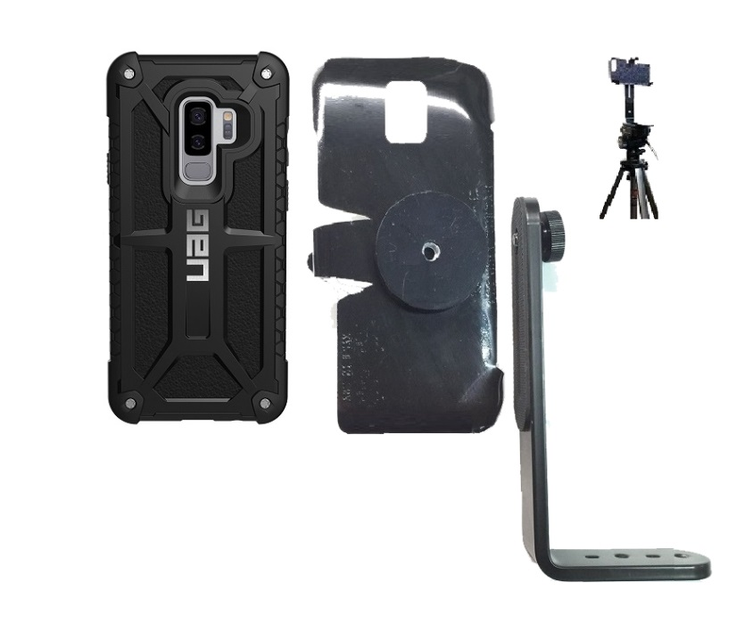 promo code c0edc 28754 SlipGrip Tripod Mount Designed For Samsung Galaxy S9 Plus UAG Monarch  Feather Case