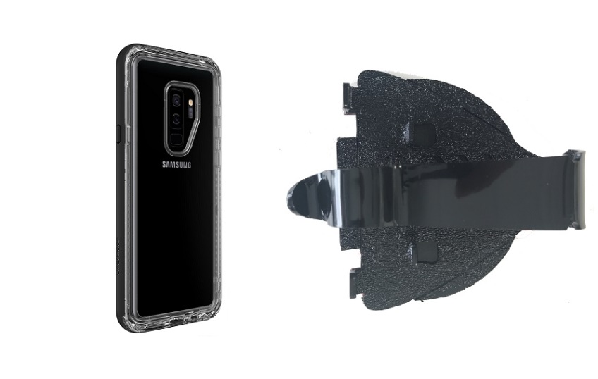 SlipGrip Car Dashboard Holder Designed For Samsung Galaxy S9 Plus Lifeproof NEXT Case
