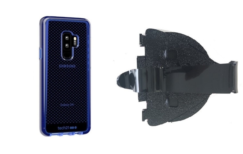 SlipGrip Car Dashboard Holder Designed For Samsung Galaxy S9 Plus Tech21 EvoCheck Case