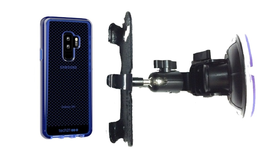 SlipGrip Car DT Holder Designed For Samsung Galaxy S9 Plus Tech21 EvoCheck Case