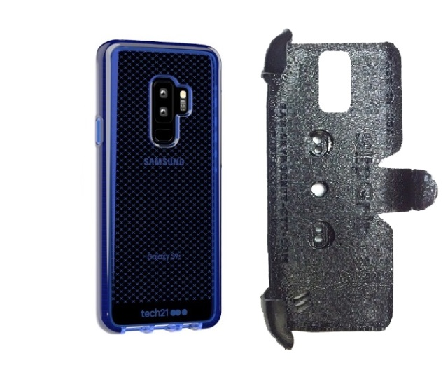 SlipGrip PRO Mounts Holder Designed For Samsung Galaxy S9 Plus Tech21 EvoCheck Case