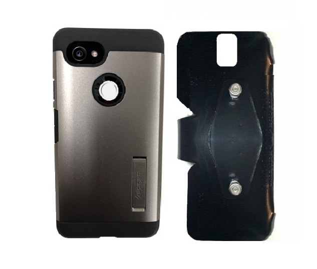pretty nice 78fc1 87464 SlipGrip RAM-HOL Holder Designed For Google Pixel 2 XL Phone Spigen Tough  Armor Case