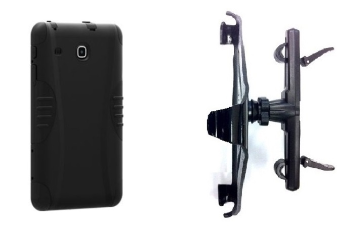 SlipGrip Headrest Mount Designed For Samsung Galaxy Tab E 8.0 Tablet Verizon Rugged Case