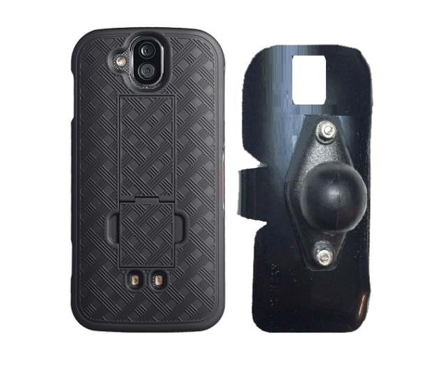 SlipGrip RAM Holder For Kycera DuraForce Pro E6820 Using  Nagebee Super Slim Case