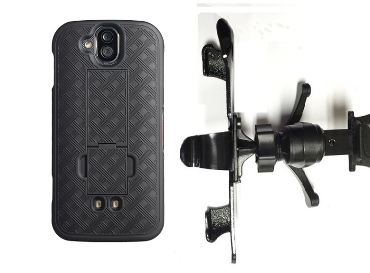 SlipGrip Vent Holder For Kycera DuraForce Pro E6820 Using  Nagebee Super Slim Case