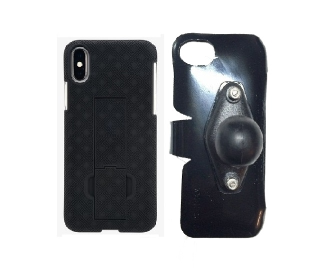 SlipGrip RAM Holder For Apple iPhone X Using Verizon KickStand Case