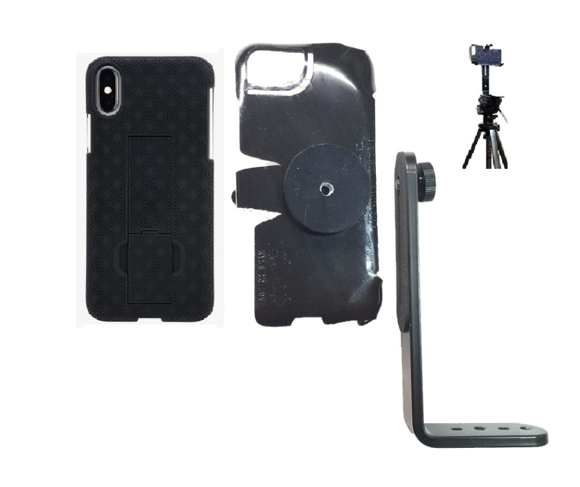 SlipGrip Tripod Mount For Apple iPhone X Using Verizon KickStand Case