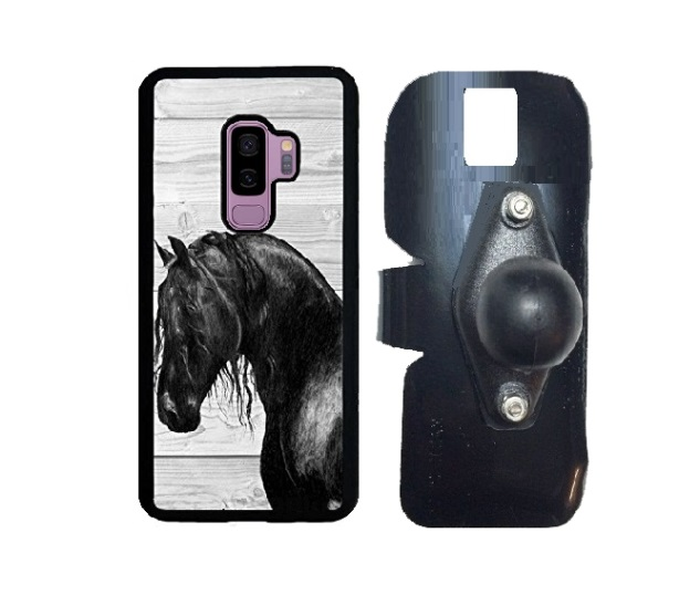 SlipGrip RAM Holder Designed For Samsung Galaxy S9 Plus  Innosub Rubber Case