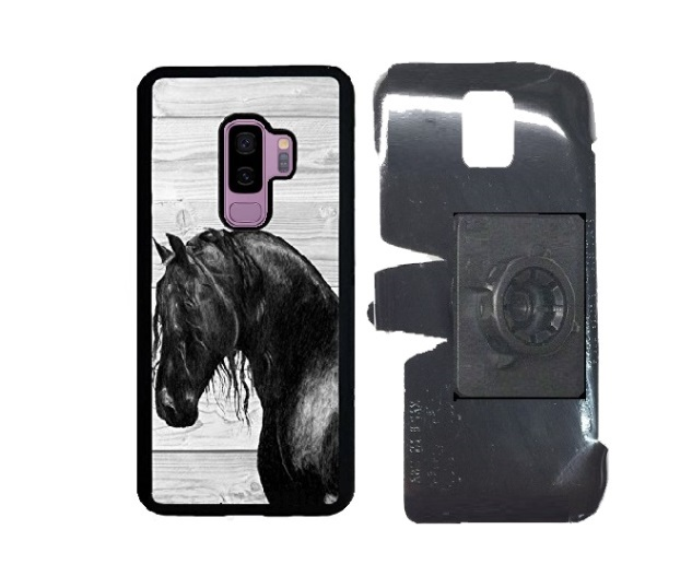 SlipGrip 17MM Holder Designed For Samsung Galaxy S9 Plus  Innosub Rubber Case